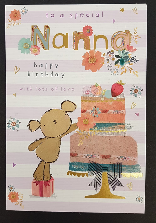 Nanna Birthday Card
