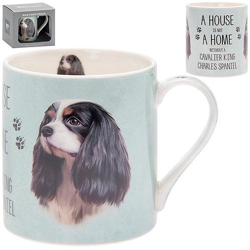 House and Home Fine China Mug - King Charles Spaniel