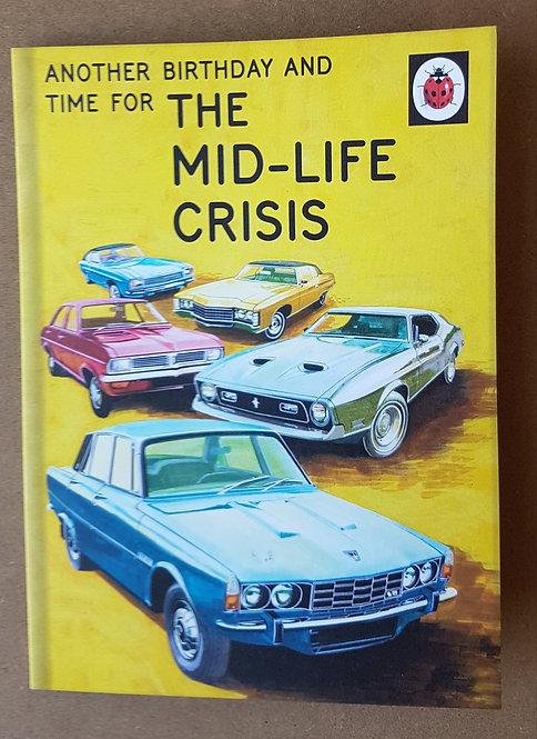 Ladybird Edition, Mid-Life Crisis - Greeting Card