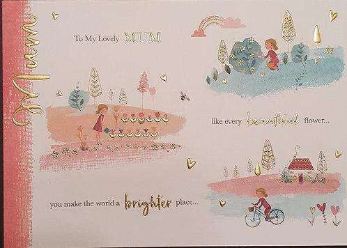 Mum Birthday Greeting Card