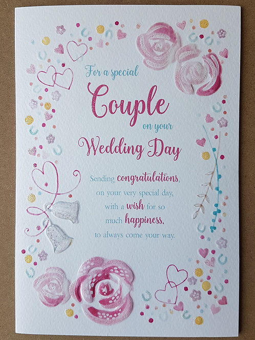 Eternal Range - On Your Wedding Day Card