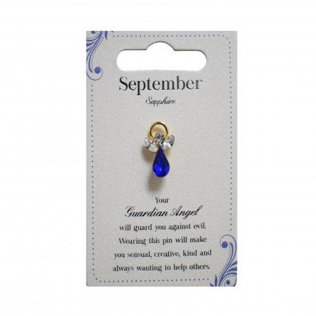 Guardian Angel Pin - September