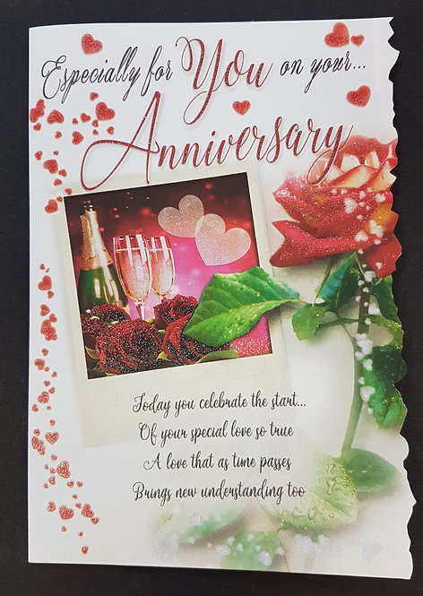Anniversary -  On Your Anniversary Greeting Card
