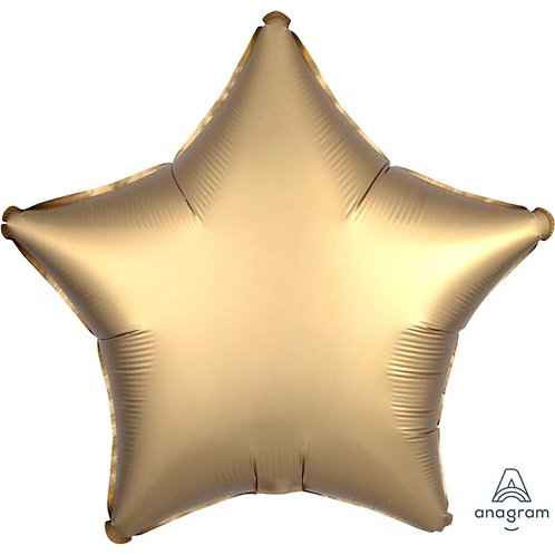 "18"" Gold Star -  Anagram Balloon - Helium Filled"