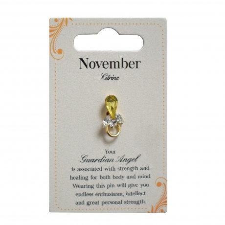 Guardian Angel Pin - November