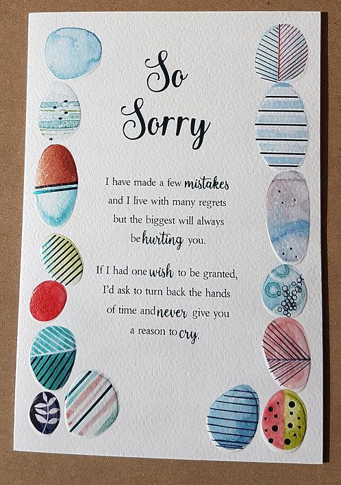 Eternal Range - So Sorry Card