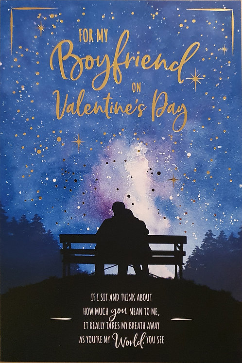 Boyfriend Valentine's Day Card