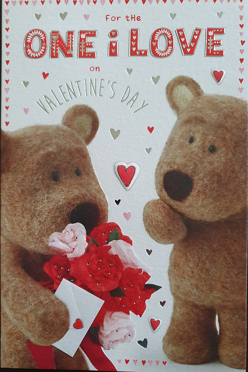 Valentine's Day Card - To The One I Love