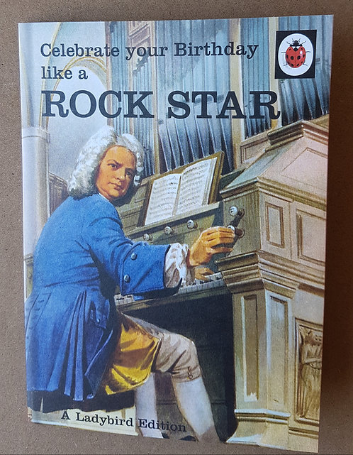 Ladybird Edition, Rock Star - Greeting Card