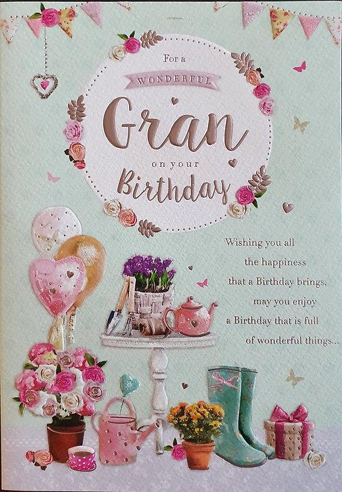 Gran Birthday Card