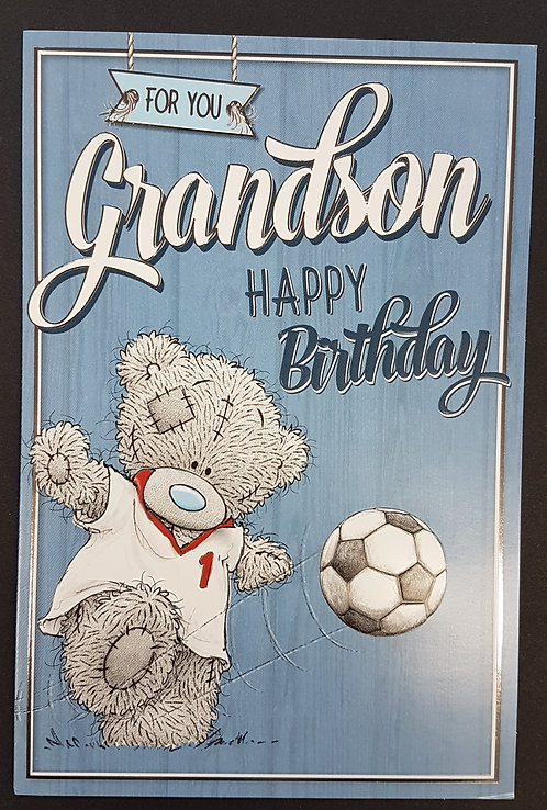 Grandson Birthday Card - Me to You