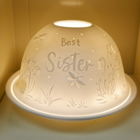 Nordic Light Candle Shade For The Best Sister