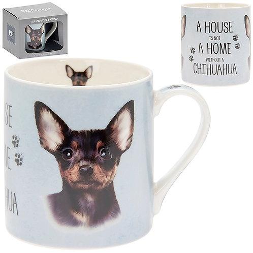House and Home Fine China Mug - Chihuahua
