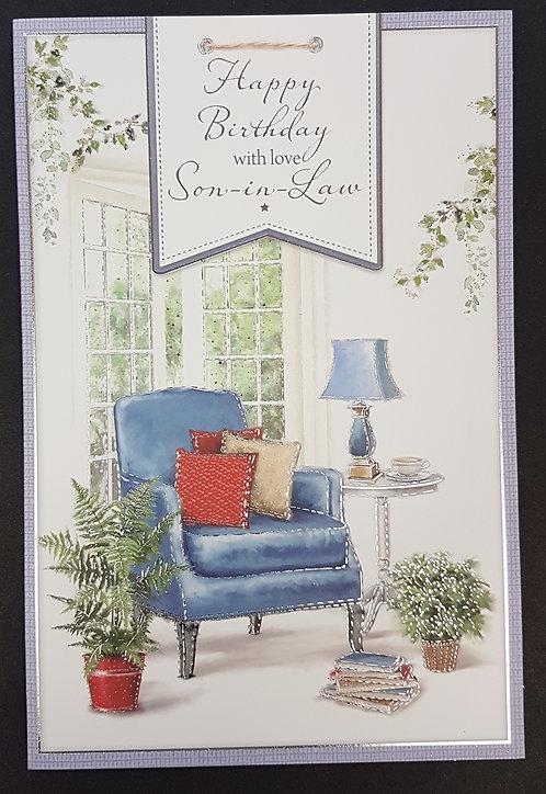Son-in-Law Birthday Card