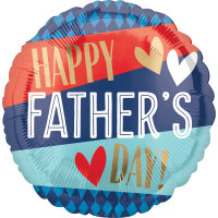 "18"" Happy Father's Day Balloon - Helium Filled"