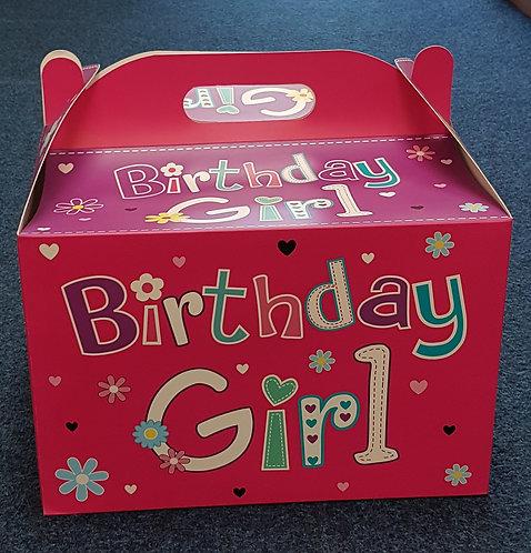 Balloon Box - Birthday Girl