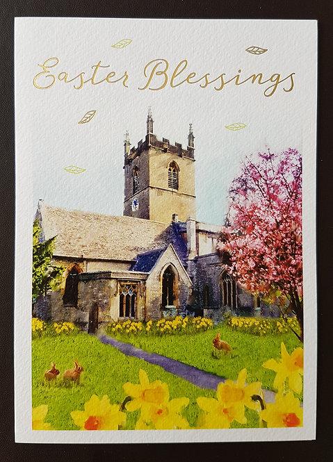 Easter Blessings - Easter Greeting Card