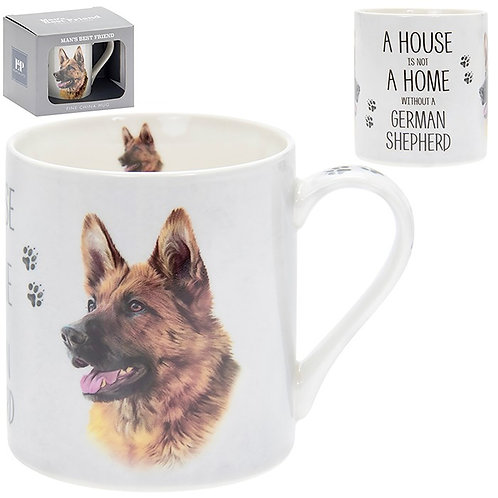 House and Home Fine China Mug - German Shepherd