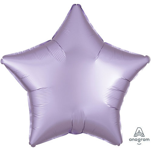 "18"" Pastel Lilac Star -  Anagram Balloon - Helium Filled"