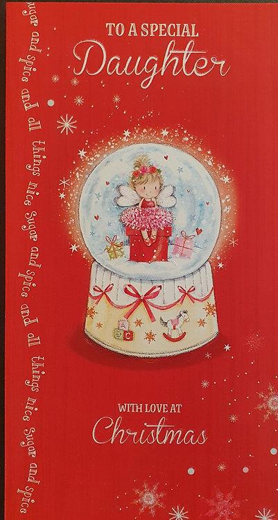 Daughter Christmas Greeting Card