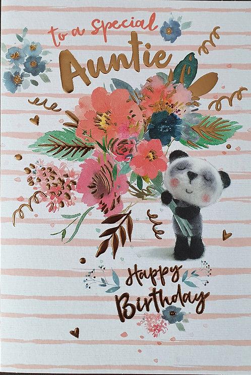 Auntie Birthday Greeting Card
