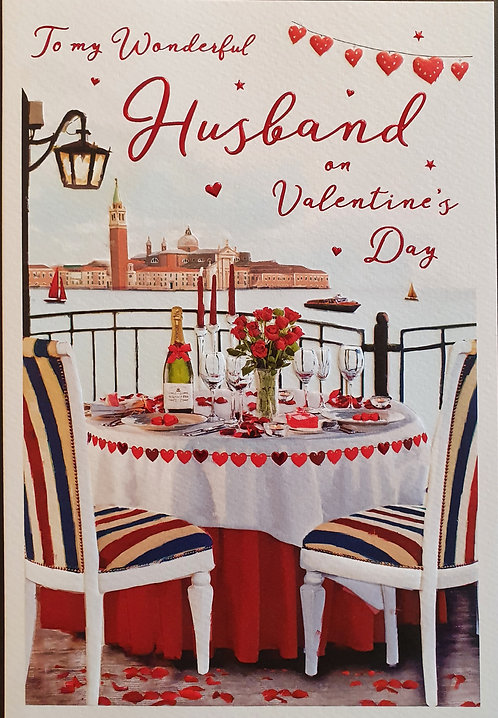 Valentine's Day Card - Husband