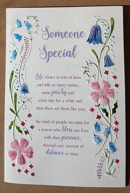 Eternal Range - Someone Special Card