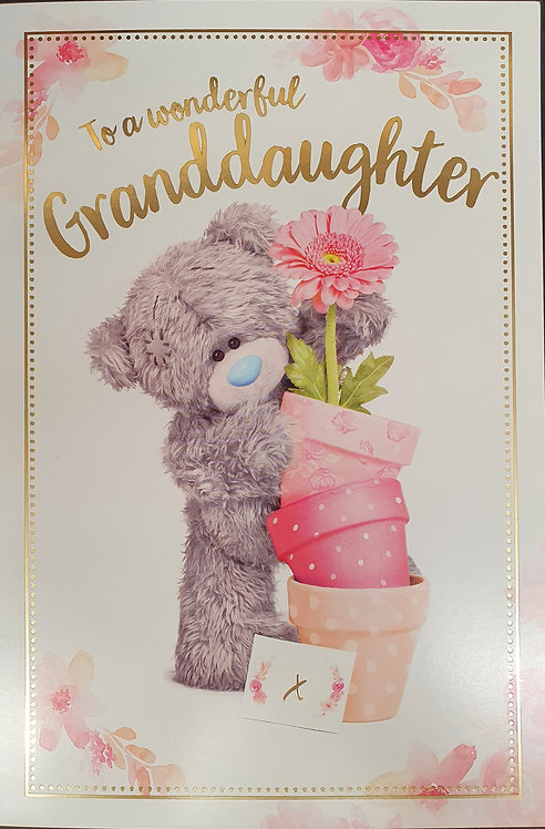 Granddaughter Birthday Greeting Card By Me To You Tatty Teddy
