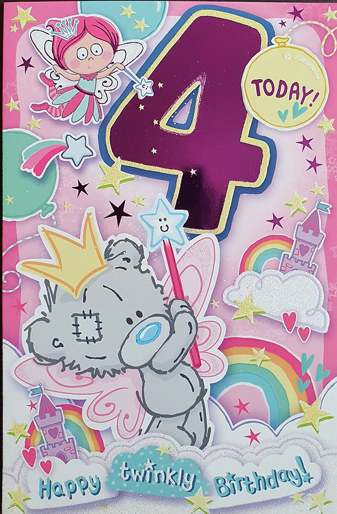 4th Female Birthday Card - Me to You