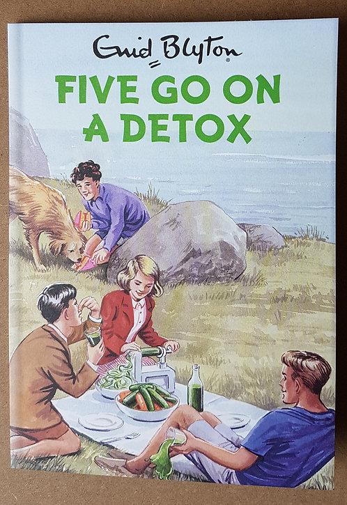 Enid Blyton, Five Go On A Detox - Greeting Card