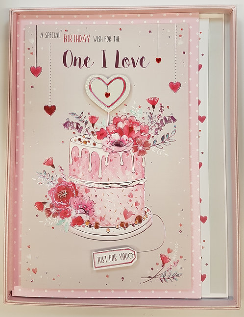 One I Love Birthday Boxed Card