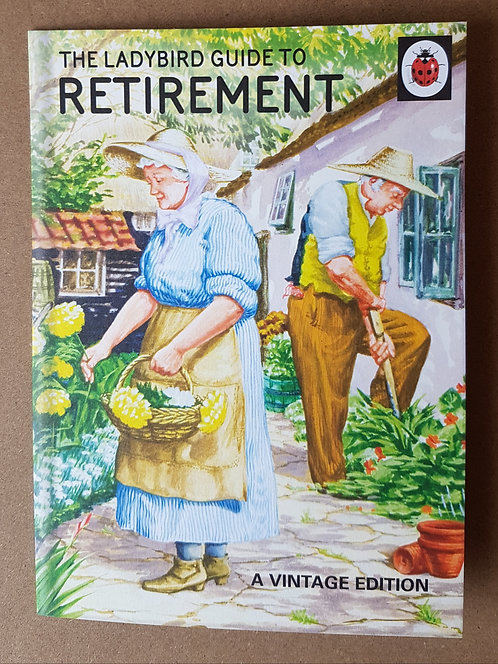 Ladybird Guide To Retirement Greeting Card