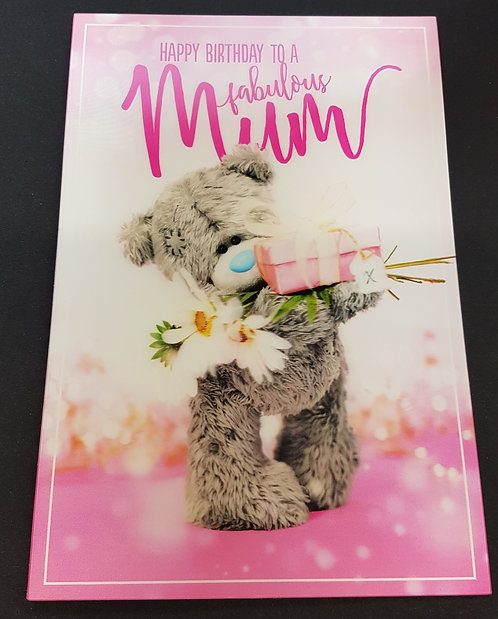 Mum Birthday Card - 3D Me to You