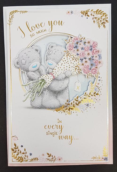 I Love You Birthday Card