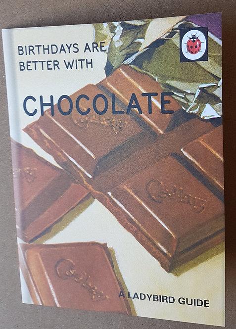 Ladybird Guide, Chocolate - Greeting Card