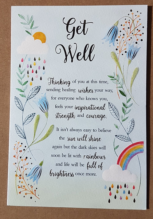 Eternal Range - Get Well Card