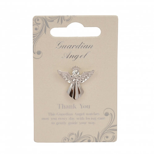 Guardian Angel Pin - Thank You