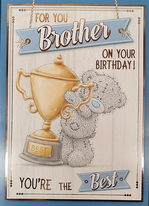 Brother Birthday Card - Me To you