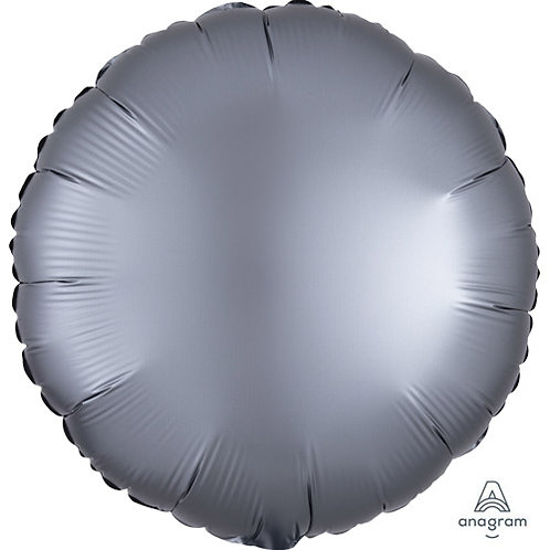 """18"""" Graphite Round -  Anagram Balloon - Helium Filled"""