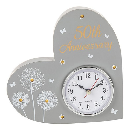 50th Anniversary Celebration Clock