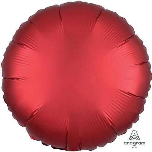 "18"" Sangria Round -  Anagram Balloon - Helium Filled"
