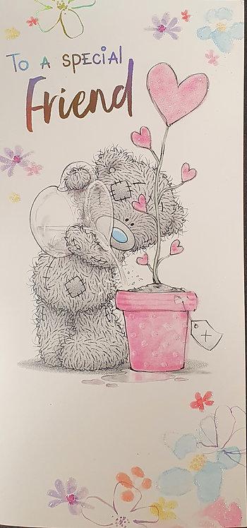 Friend Birthday Greeting Card By me To You Tatty Teddy