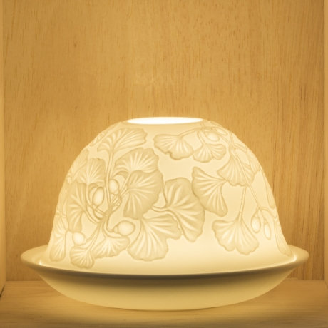 Nordic Lights Candle Shade - Dangling Flowers