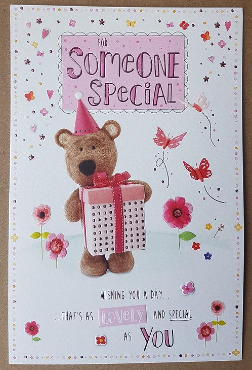 Someone Special Female Birthday Greeting Card Barley Bear