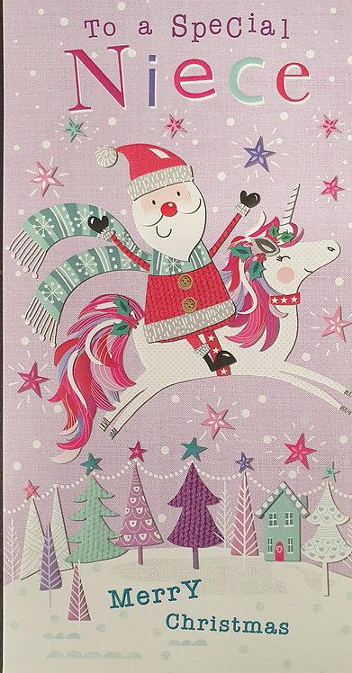 Niece Christmas Greeting Card
