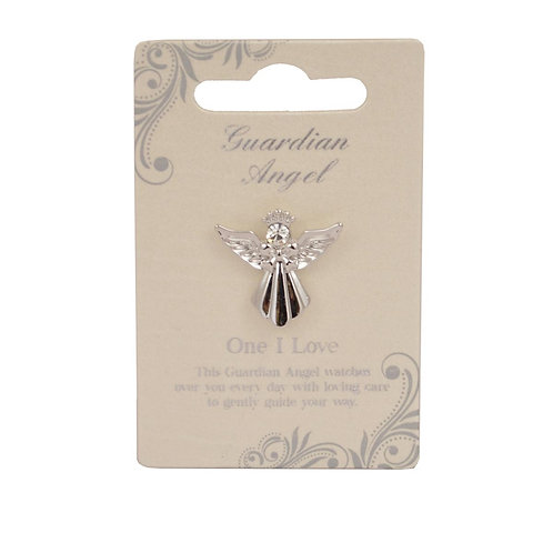 Guardian Angel Pin - One I Love