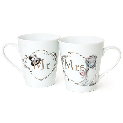 Mr & Mrs Cup Gift Set By Me To You