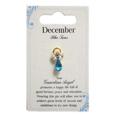 Guardian Angel Pin - December