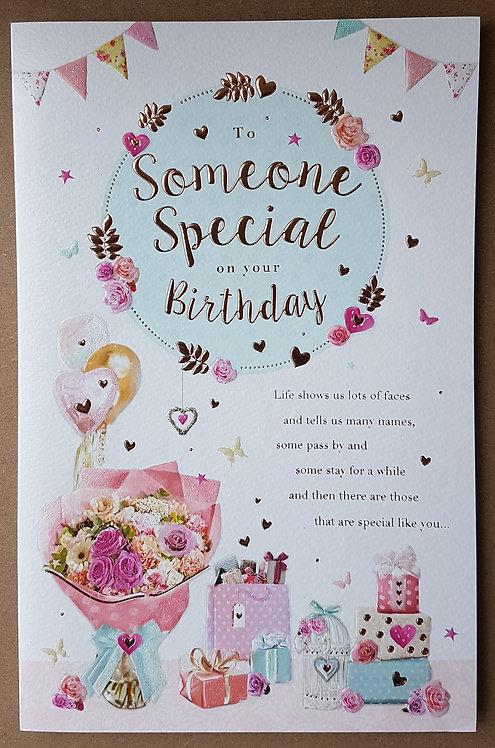 Female Birthday Greeting Card - Someone Special