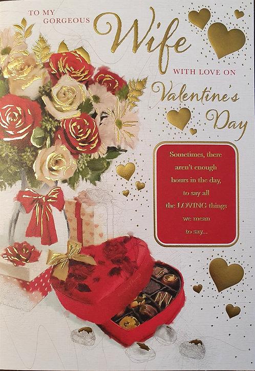 Valentine's Day Card - Wife